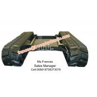 Quality Retractable rubber crawler chasis(track undercarriage) wholesale