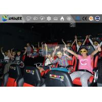 Quality Amazing 7d Simulator Cinema With Pneumatic / Hydraulic / Electronic Systems wholesale