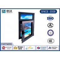 Quality Stainless Steel Exterior Fire Resistant Windows For High Rise Commercial Building wholesale