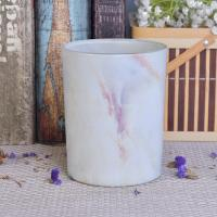 Quality Hydrographics Transfer Printing Glass Candle Holder For Wedding Decoration wholesale