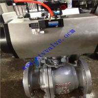 Quality Manufacturer price pneumatic actuator hot water ball valve made in China wholesale
