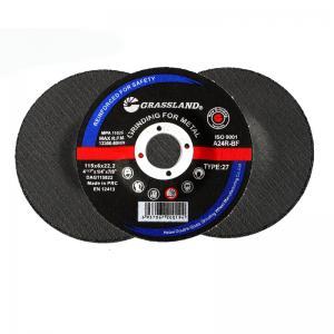 "Quality Angle Grinder 115mm 4.5"" 30 Grit Abrasive Grinding Wheel wholesale"