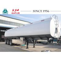 China Fuel Oil Tank Trailer , 40000 Liters Water Tank Trailer With 8 Compartments on sale