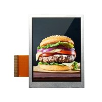 Quality 100cd/M2 320x240 Lcd Display / Small Tft Screen 2.8V 3.5 Inch wholesale