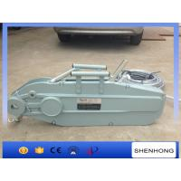 Quality Wire Rope Hoist Winch Tightening Cable Pulling Tools Tirfor include rope 20m wholesale