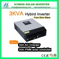China 3KVA Hybrid Solar Power Inverter with 50A Charge Controller (QW-3kVA 2450) on sale
