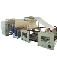 Quality Automatic Towel Folding Machine With Embossing Action High Speed Feature wholesale