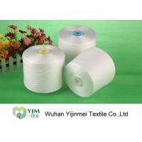 Quality Bright Ring Spun Polyester Yarn On Plastic / Paper Cone With 100% Virgin PES Fiber wholesale