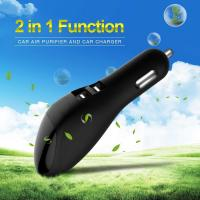 China Intelligent LED USB Car Charger Air Freshener 103 Mm X 33 Mm X 32 Mm Size on sale