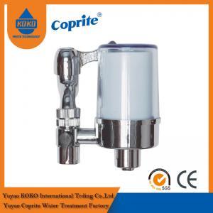 Quality Kitchen Carbon Fiber / Granular Carbon Cartridge Tap Filter Faucet Mount Water Filter wholesale