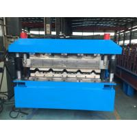 Roofing Double Layer Roll Forming Machine 40GP Container By Chain