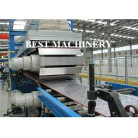 China Continuous Foam PU Sandwich Panel Production Line 25mx2.2mx2.5m Dimention on sale