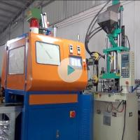 China Full Automatically Vertical Injection Molding Machine For Cloth Tags on sale