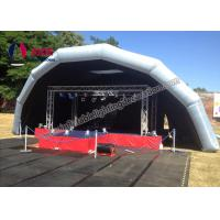 Cheap Outdoor Events Concern Inflatable Stage Cover Tent Air Roof Transparency for sale