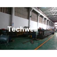 Quality GI , Carbon Steel Top Hat Purlin Cold Roll Forming Machine With Manual / Hydraulic Uncoiler wholesale