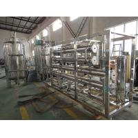 China Stainless Steel 5000 LPH Water Purifying Machine Semi Automatic For Beverage on sale