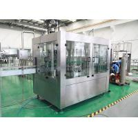 China Pure / Mineral Packaged Drinking Water Filling Machine Full Automatic Low Noise on sale