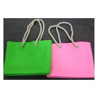 Quality silicone shoulder bags for woman ,waterproof beach bags and tote wholesale