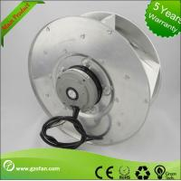 Cheap FFU EC AC Centrifugal Blower Fan Back Curved For Houses / Buildings Ventilation for sale