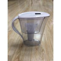 Quality ABS / AS White Countertop Alkaline Water Purifier Pitcher High PH Natural Filtration System wholesale