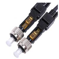China Quick Install Fiber Optic Connectors , FC UPC Fiber Connector For FTTH Network Solution on sale