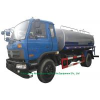Quality 10 Ton  Stainless Steel Clean Drinking Water Tank  Truck With  Water  Pump Sprinkler For  Water Delivery and Spray wholesale