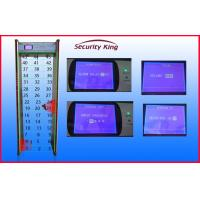 Quality 45 Zones LCD Screen Door Frame Metal Detector with Directional Counter wholesale