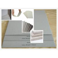 Cheap Recycled Pulp Uncoated Laminated Grey Chipboard 700gsm - 1800gsm 1.5mm Thick Paper for sale