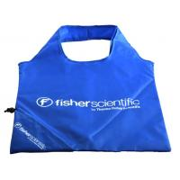 China Waterproof 210D Polyester Folding Shopping Bags Durable For Promotion on sale