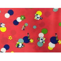 China Light And Thin PU Coated Polyester Fabric 350T Poly Tatteta Wear - Resistant on sale