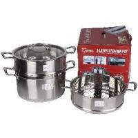 Quality Stainless Steel Steam Pan with Glass Cover wholesale