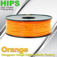 Cheap HIPS 3D Printer Filament 1.75 / 3.0mm , Material for 3d printing Markerbot , for sale