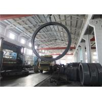 Quality Max OD 5000mm A350 LF3 LF6 Carbon Steel Forging Rings Rough Machined Q+T Heat Treatment wholesale