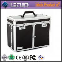 Quality LT-BC01 wholesale Black cosmetic style case china supplier make up train case wholesale