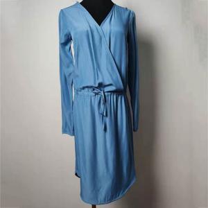 China Custom Shank Button Elegant Female Dresses Soft And Comfortable on sale