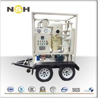 Quality Small Size Insulation Oil Purifier High Efficiency 600 - 18000L/H Flow Rate wholesale