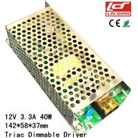 Quality Triac Dimmable LED Power SupplyConstant Voltage IP20 CE RoHS Certificated wholesale