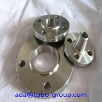 Quality ASTM B564 UNS N08031 Forged Steel Flanges Ce Certificate For Electric Power wholesale