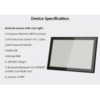 Quality Customized RFID NFC Sensor Industrial Android POE Panel PC 10 Inch IPS Touch Display wholesale