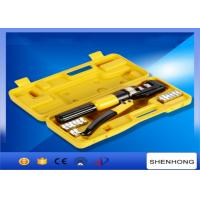 Quality 10MM stroke Hexagon Manual Hydraulic Crimping Tool Crimping Up to 4-70mm2 wholesale