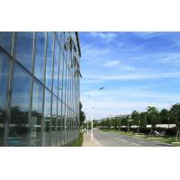 Quality Large Aluminium Double Glazed Curtain Walls With Blue Lowes Glass wholesale