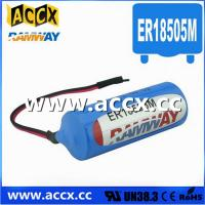 Quality 3.6V ER18505M Lithium Thionyl Chloride Battery (er14250mer14335m er14505m er26500m er3461m wholesale