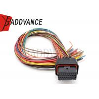 Quality 2-1437285-3 Auto Wiring Harness Tyco ECU 34 Pin Connectors With EM4/48 Terminal wholesale