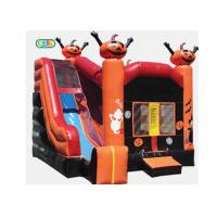 Quality Cool Playhouse Inflatable Bounce House Combo Castle With Slide For Kids And Adult wholesale
