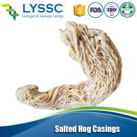 Quality 2015 Good Warranty Natural Salted Hog Casings Goat Casings with Good quality 34/36 wholesale