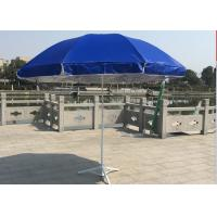 Quality Classic Design Solid Outdoor Garden Umbrella , Market Patio Umbrella Parasols wholesale