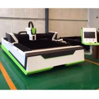 China 1000W 1500W CNC Metal Laser Engraving Cutting Machine With Precise Dual Driving on sale