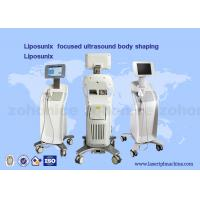 China Liposonix for body slimming machine / high intensity focused ultrasound machine on sale
