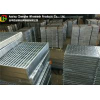 Quality Custom Vehicuar Galvanised Steel Grating 10 - 300mm Height ISO9001 Certification wholesale