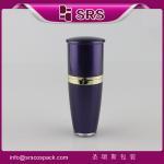 Quality L036 Drum shape 15ml 30ml 50ml 80ml 120ml manufacturing cosmetic acrylic bottle wholesale